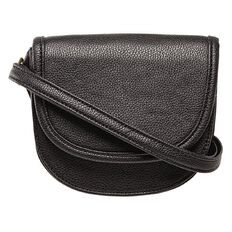 Basics Brand Flap Handbag