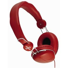 Moki /Moshi Volume Limited Headphones ACC HPVLR Red