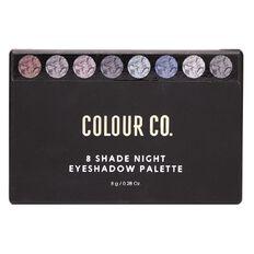 Colour Co. 8 Shade Eyeshadow Palette Night