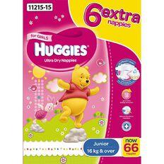 Huggies Jumbo Junior Girl 66 Pack