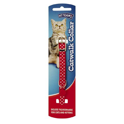 Pet Team Cat Collar Deluxe