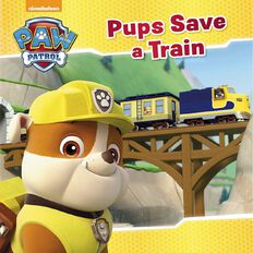 Nickelodeon Paw Patrol Pups Save a Train