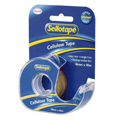 Sellotape Tape Dispenser 18mm x 10m Single Pack