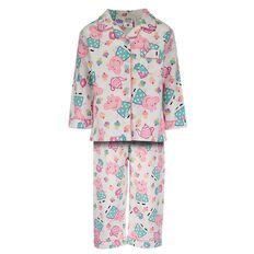 Peppa Pig Toddler Girls' Flannelette Pyjamas