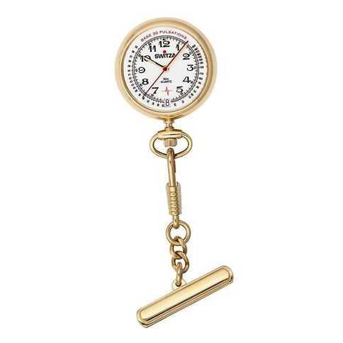 Switza Ladies' PVD Gold Nurse Watch