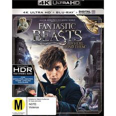Fantastic Beasts 4K Blu-ray 2Disc
