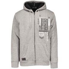 Match Sherpa Lined Printed Sweatshirt