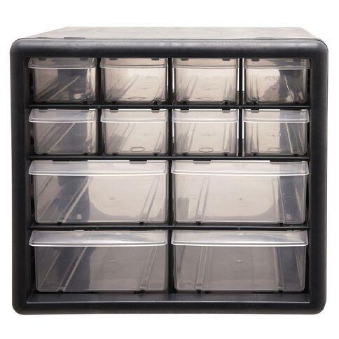 Samson Storage Box 12 Drawers Grey