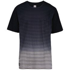Match Dip Dyed Striped Tee