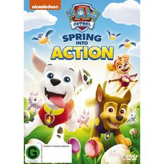 Paw Patrol Spring Into Action DVD 1Disc