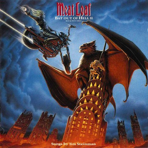 Bat Out of Hell 2 CD by Meatloaf 1Disc