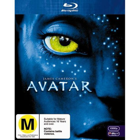 Avatar Blu-ray 1Disc