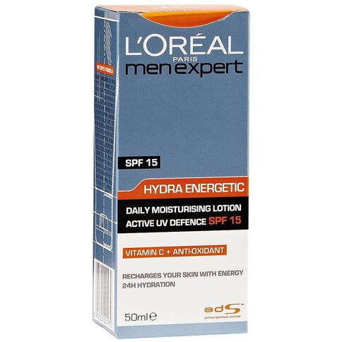 L'Oreal Paris Men Expert Daily Moisturiser SPF15 50ml