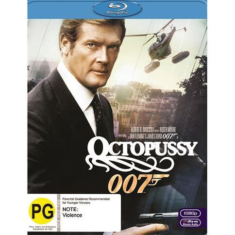 Octopussy 2012 Version Blu-ray 1Disc