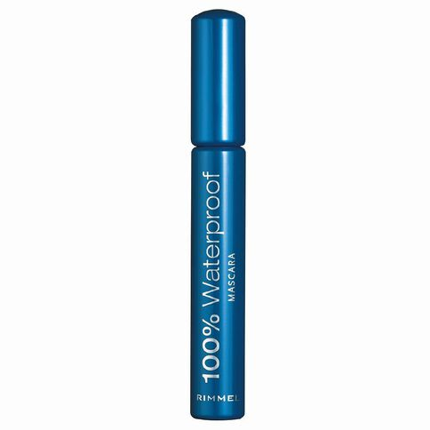 Rimmel 100% Waterproof Mascara Black