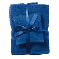 Living & Co Towel Thomas Royal Blue 6 Pack