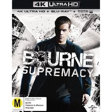 The Bourne Supremacy 4K Blu-ray 2Disc
