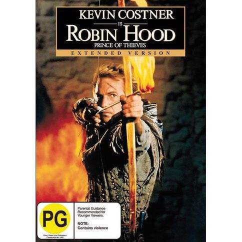 Robin Hood Prince Of Thieves DVD 1Disc
