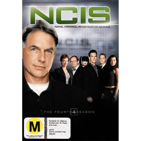 NCIS Season 4 DVD 6Disc