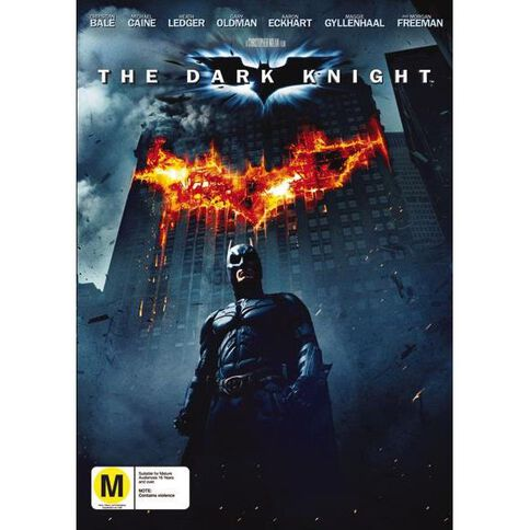 The Dark Knight DVD 1Disc