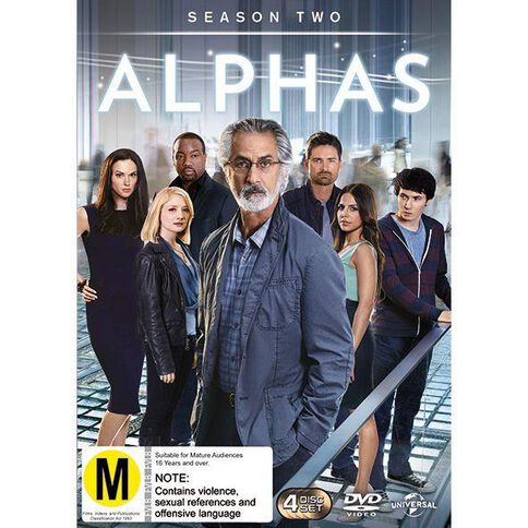 Alphas Season 2 DVD 4Disc