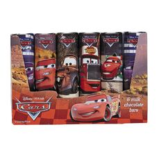 Cars Milk Chocolate Bars 84g