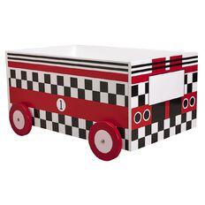 Living & Co Toy Storage Box Racing Car