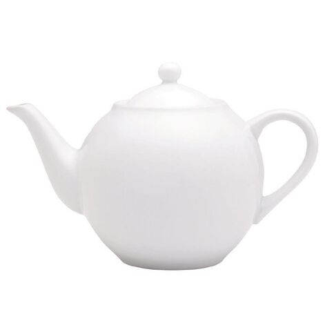 Harrison & Lane Serve Teapot 1.3L White