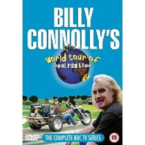 Billy Connolly World Tour Of England Ireland and Wales DVD 2Disc