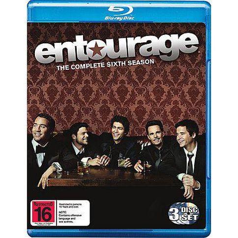 Entourage Season 6 Blu-ray 3Disc