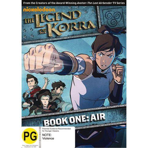 Legend Of Korra V1 DVD 1Disc