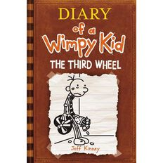 Diary of a Wimpy Kid #7 Third Wheel by Jeff Kinney