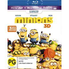 Minions 3D Blu-ray 1Disc