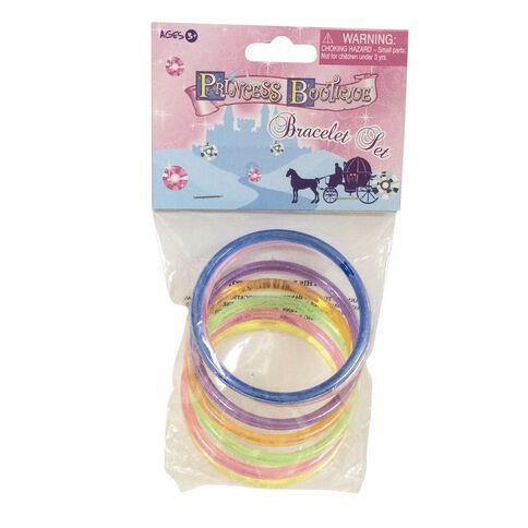 Princess Boutique Bracelet Set 7 Piece