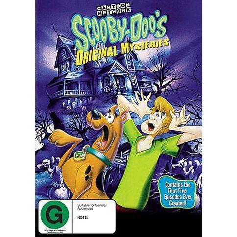 Scooby Doos Original Mystery DVD 1Disc