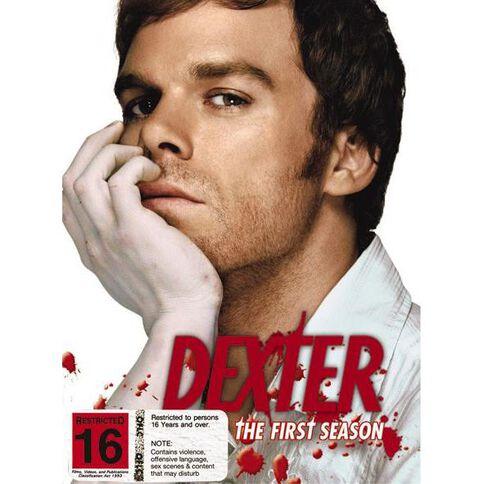 Dexter Season 1 DVD 4Disc