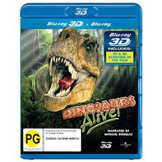 Dinosaurs Alive IMAX  3D Blu-ray 1Disc