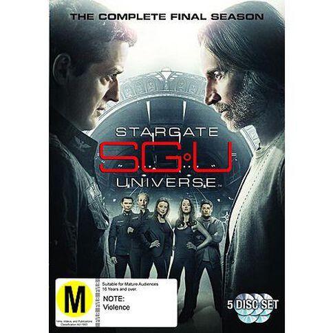 Stargate Universe Season 2 DVD 1Disc