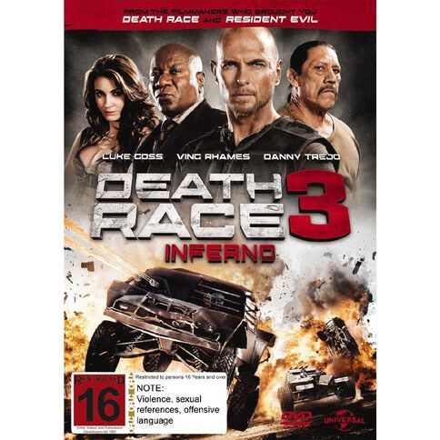 Death Race 3 DVD 1Disc
