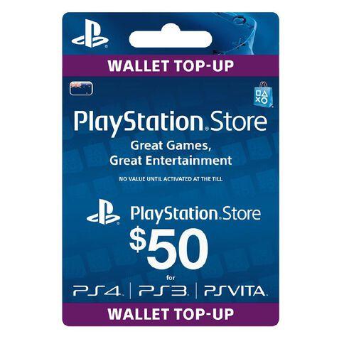 Sony PlayStation $50