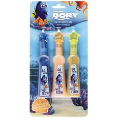 Disney Finding Dory Glitter Glue with Sparkles 3 Pack