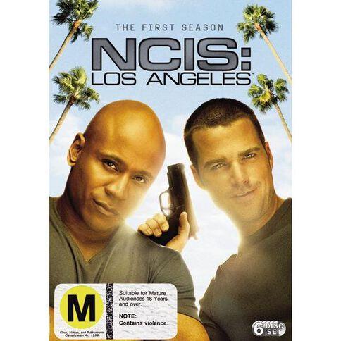 NCIS LA Season 1 DVD 6Disc