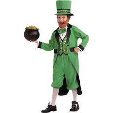 Little Leprechaun Costume 5 Piece Set Small to Large