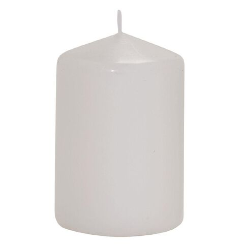 Necessities Brand Church Candle White 5cm x 7.5cm