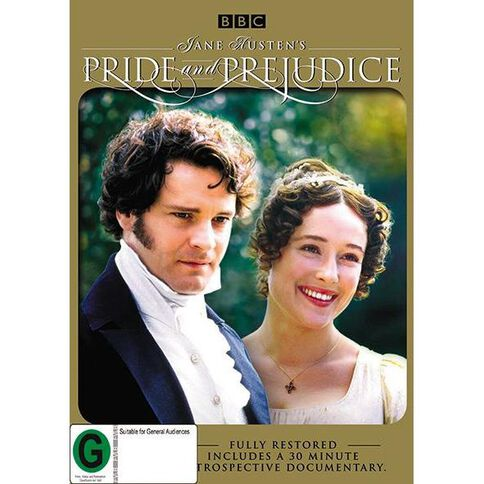 Pride and Prejudice Remastered Special Edition DVD 2Disc
