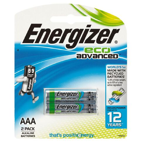 Energizer Eco Advanced AAA 2 Pack