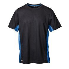 Basics Brand Active Men's Contrast Side Panel Tee