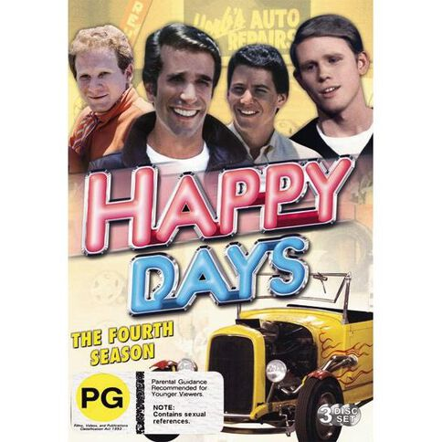 Happy Days Season 4 DVD 3Disc