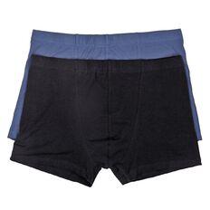 Basics Brand Men's Plain Trunks 2 Pack