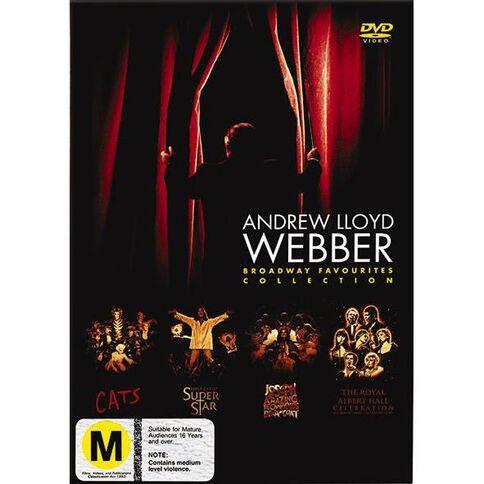 Andrew Lloyd Webber DVD 4Disc